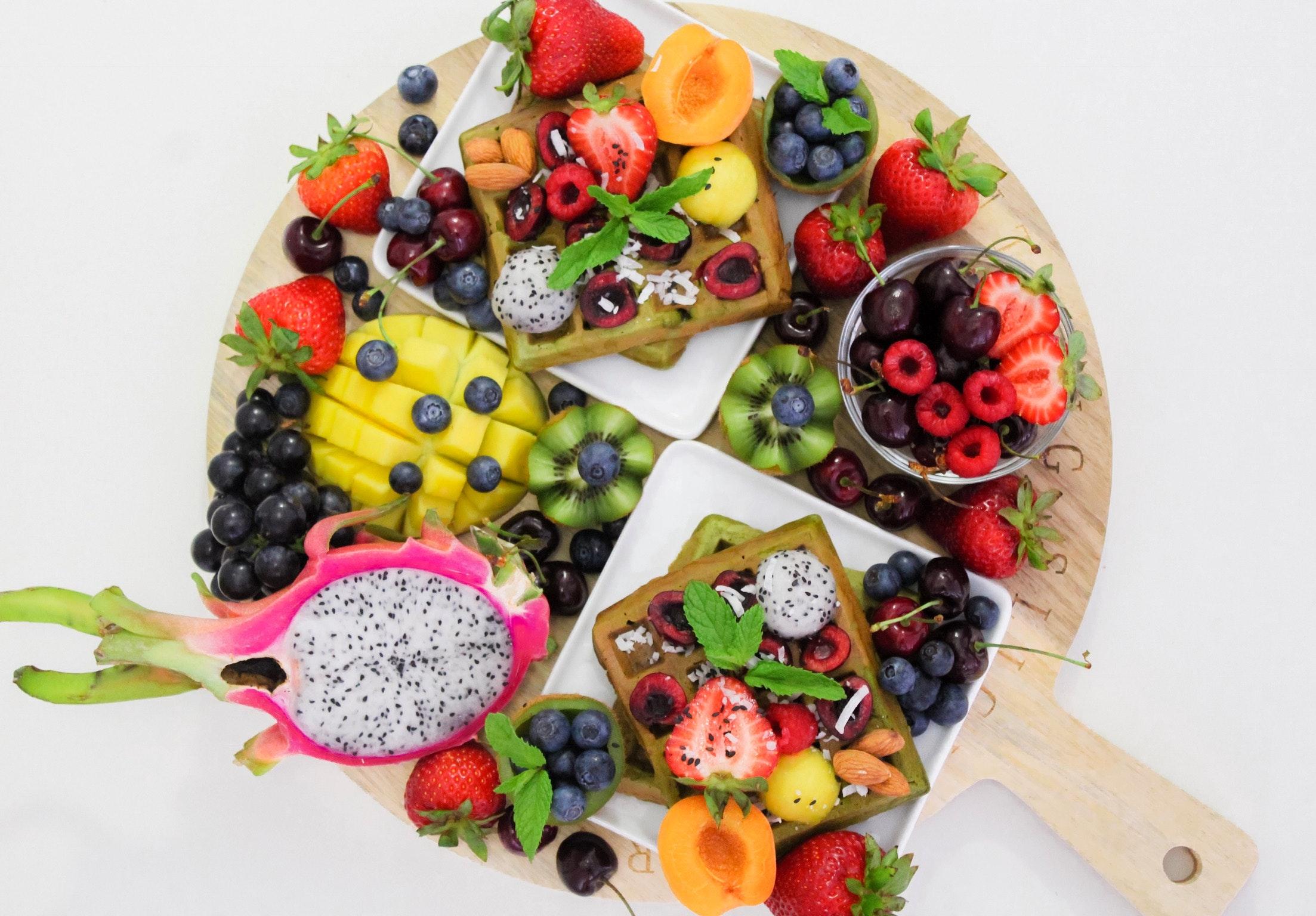 colaciones de fruta