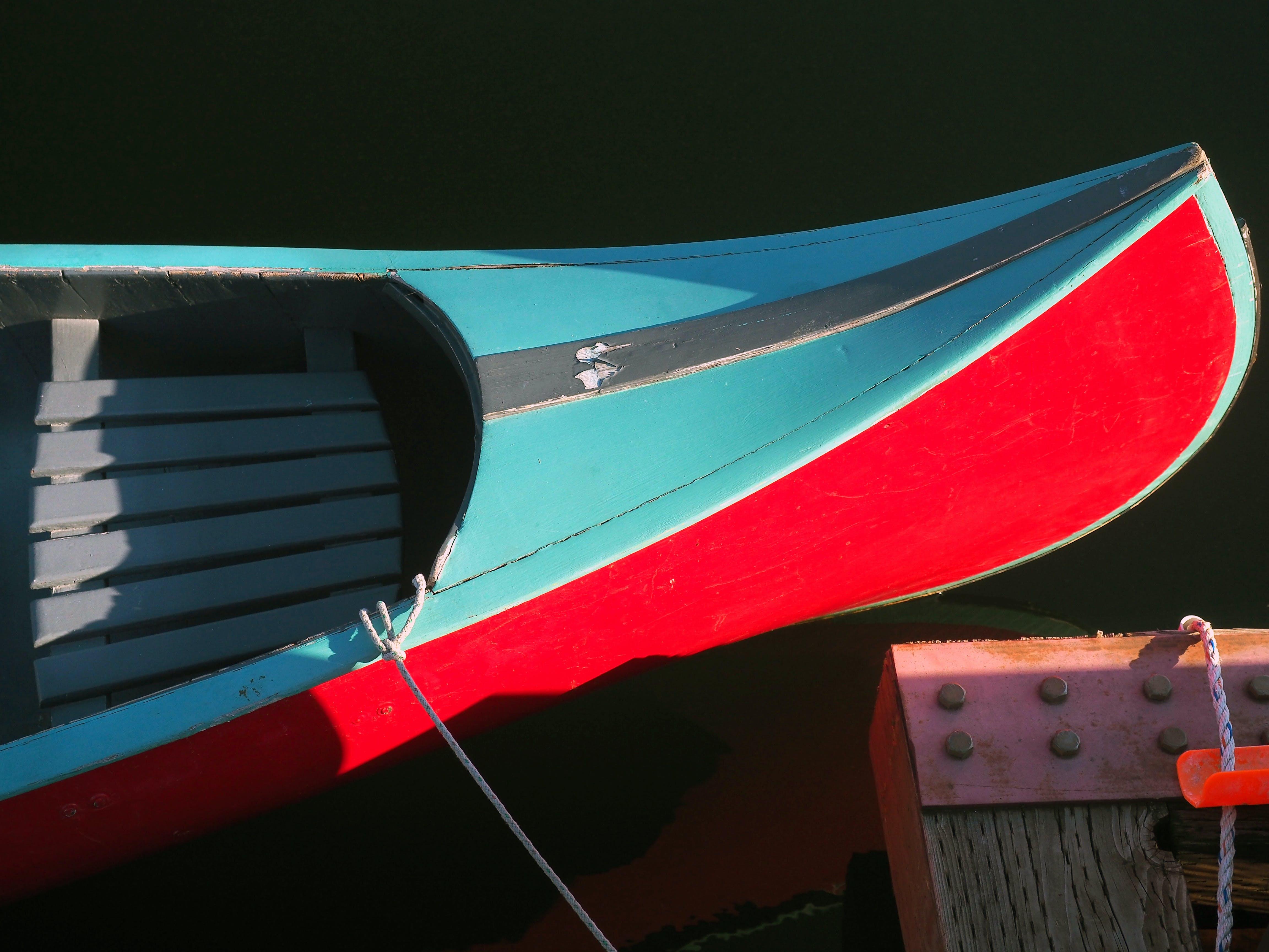 Free stock photo of adventure, board, boat, color