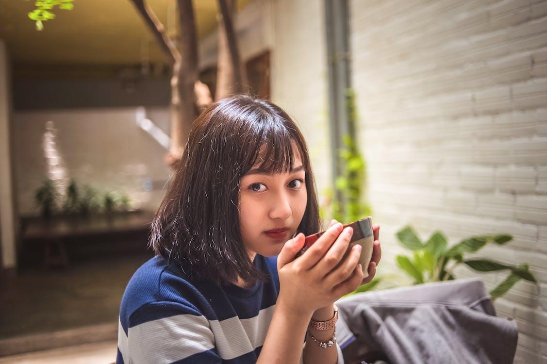 asiatka, asijská holka, dáma