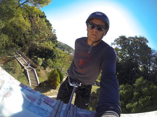 Gratis lagerfoto af #rappel #selfie