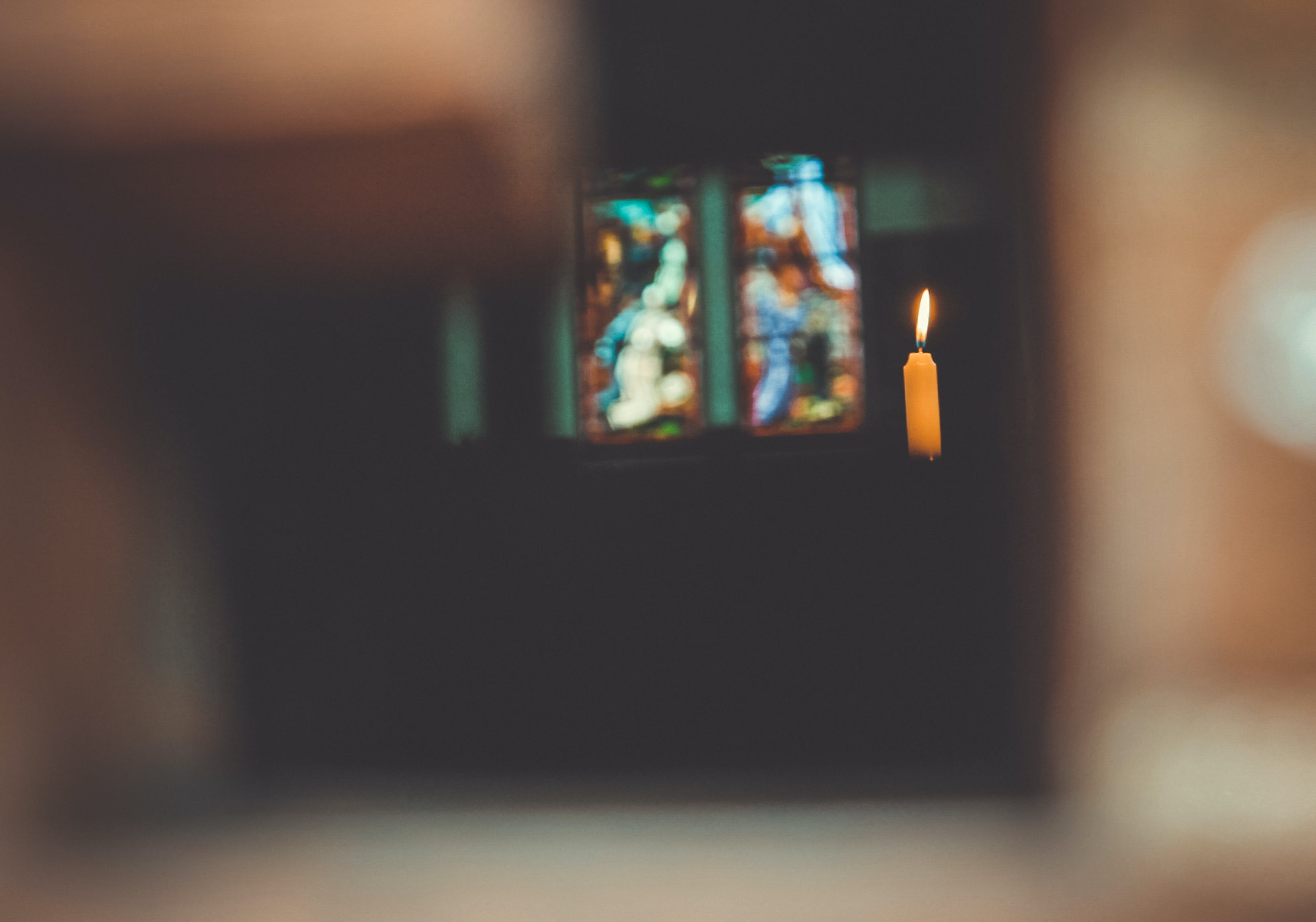 Free stock photo of fire, church, candle, god