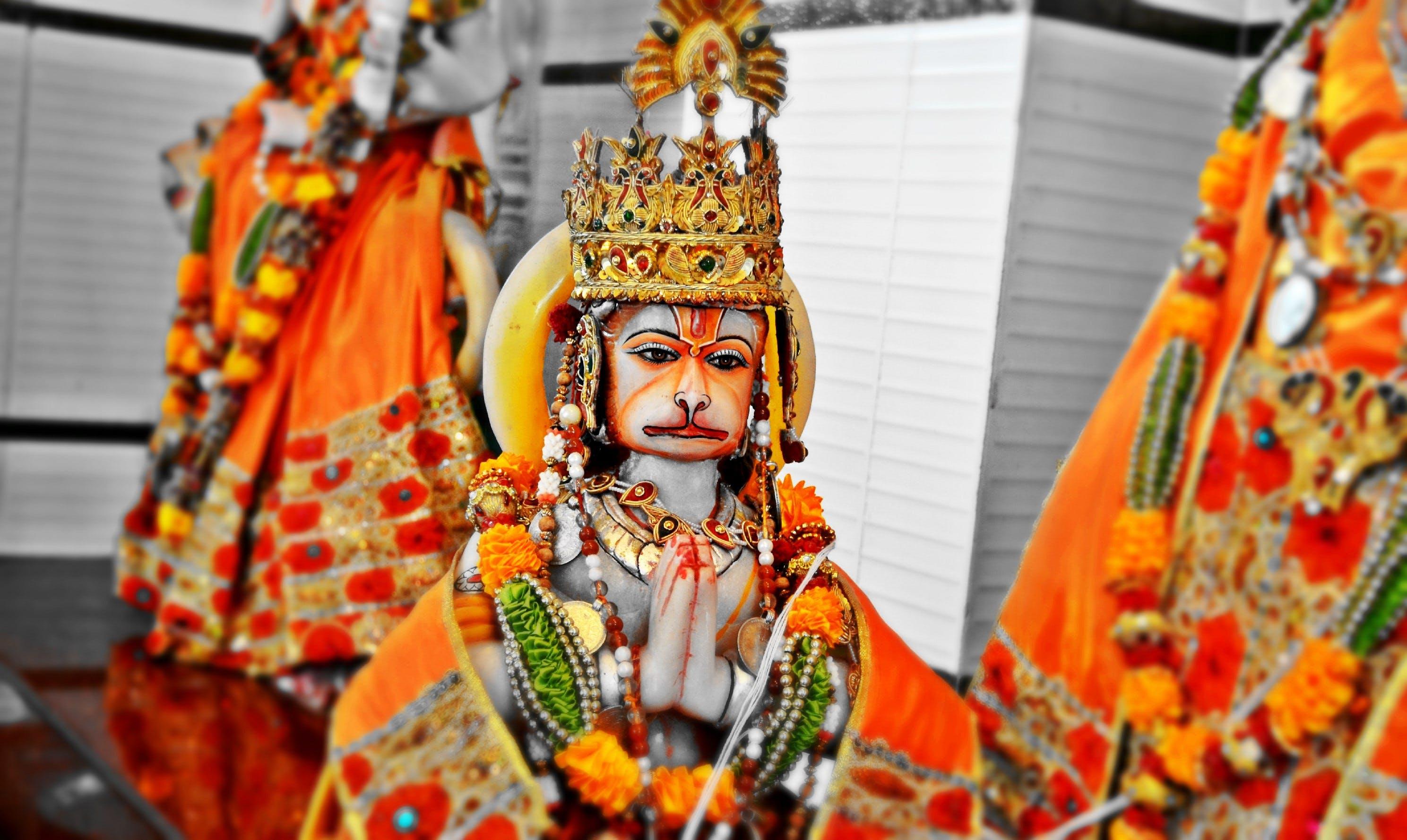 Free stock photo of god, hanuman, hindu, hinduism