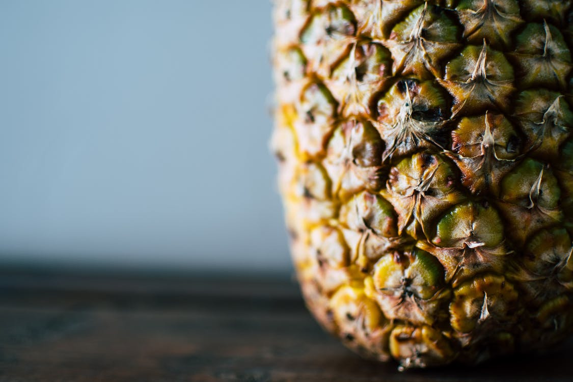 Closeup Photography of Pineapple