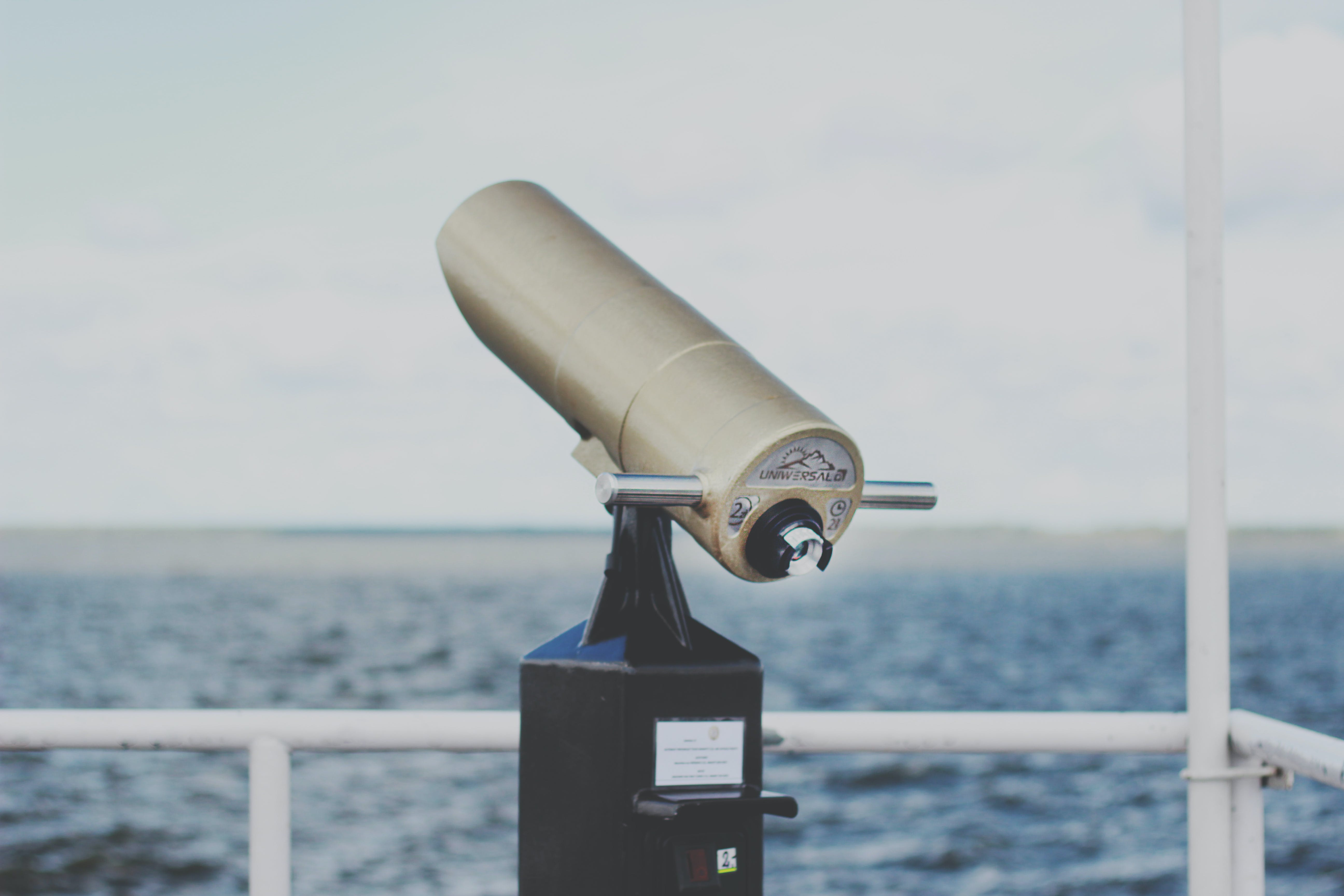 Selective Focus Photography of Telescope