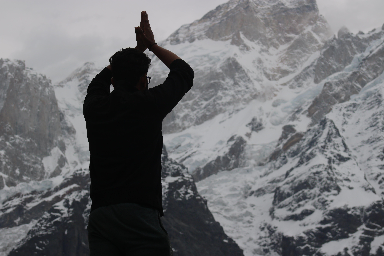 Free stock photo of mountain, mountain climber, mountain climbing, mountain peak
