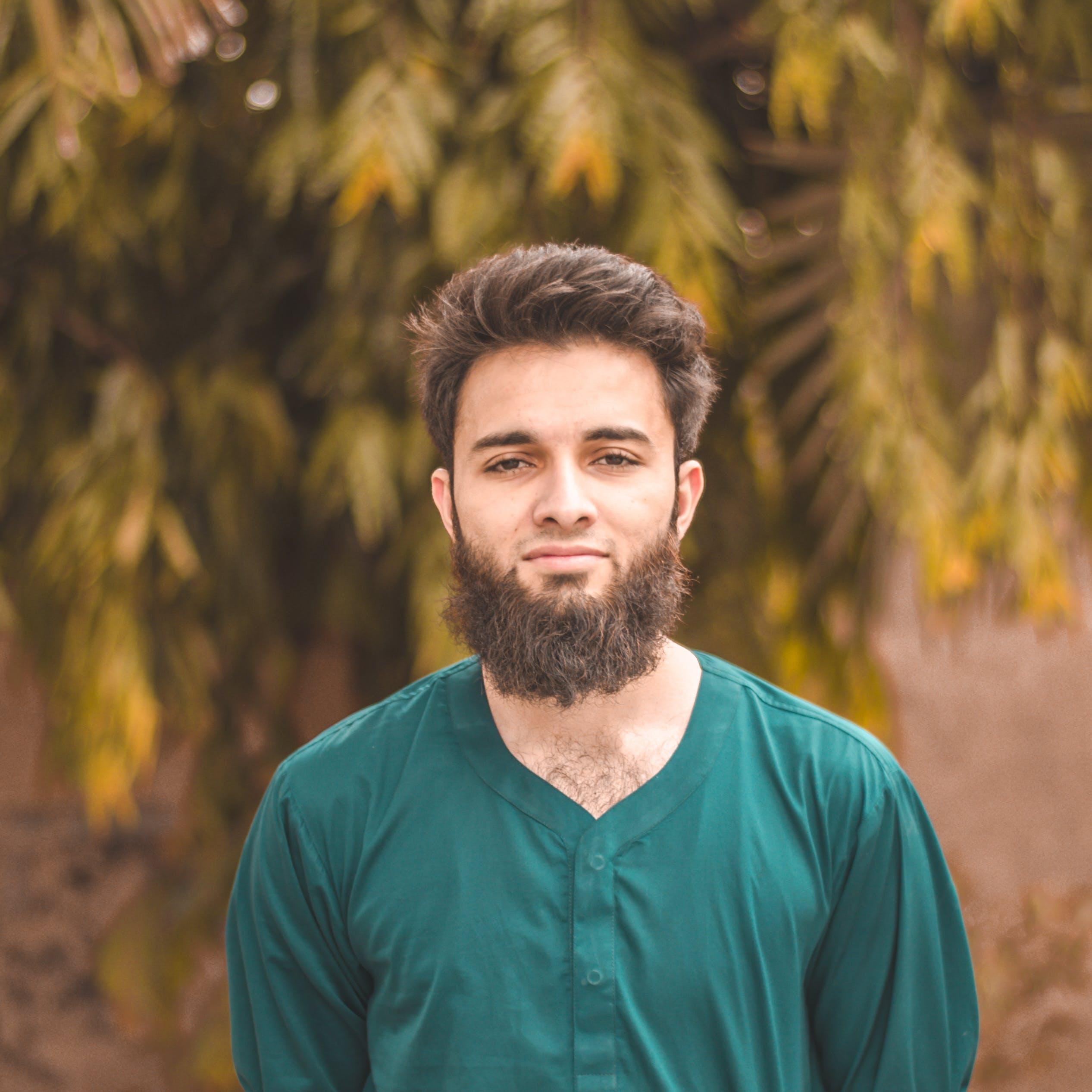 Free stock photo of 50mm, beard, bokeh, brown hair