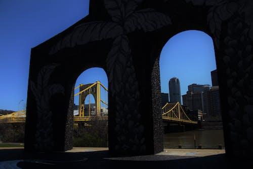 Free stock photo of bridge, city, downtown, frame