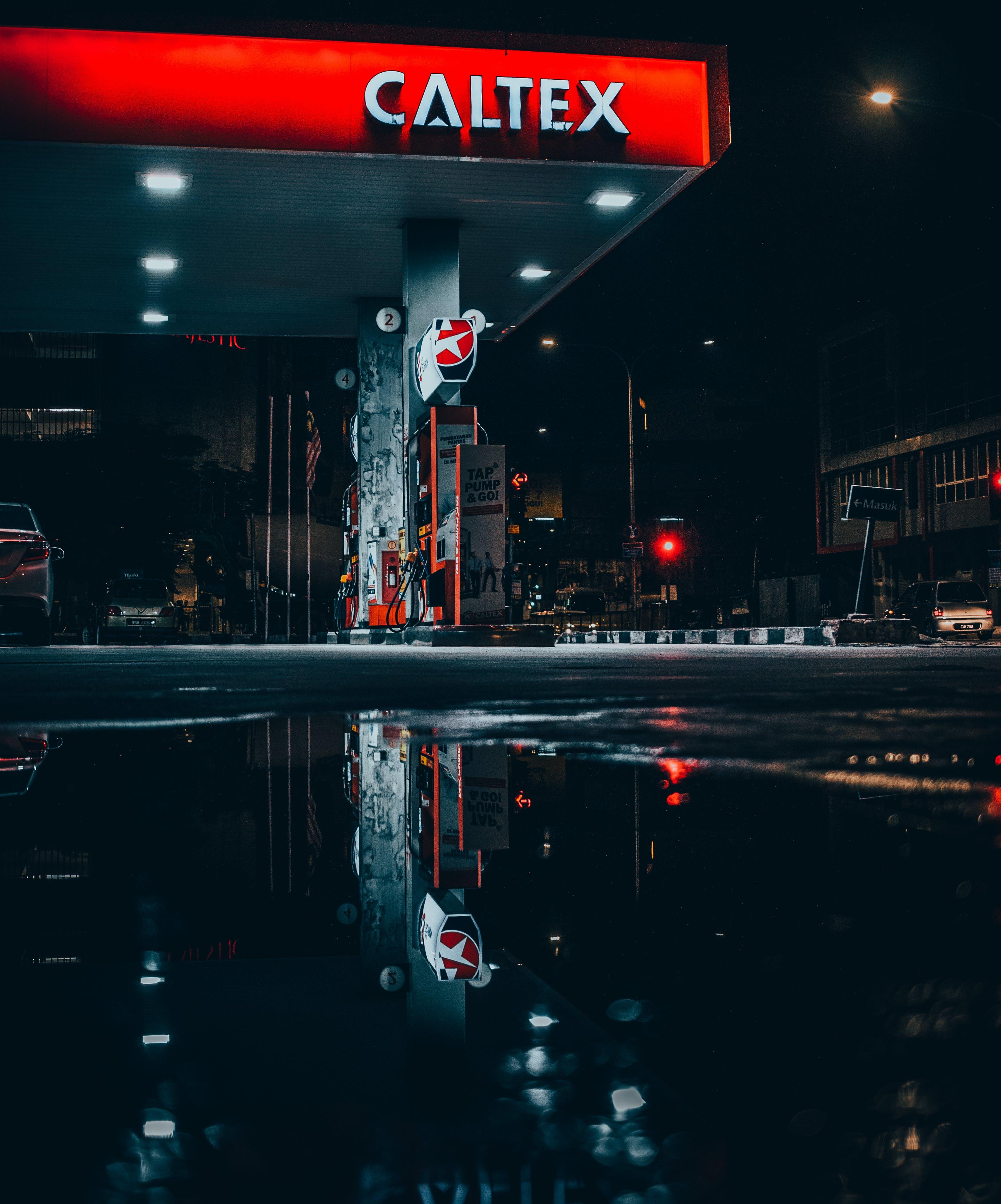 Caltex Gasoline Station
