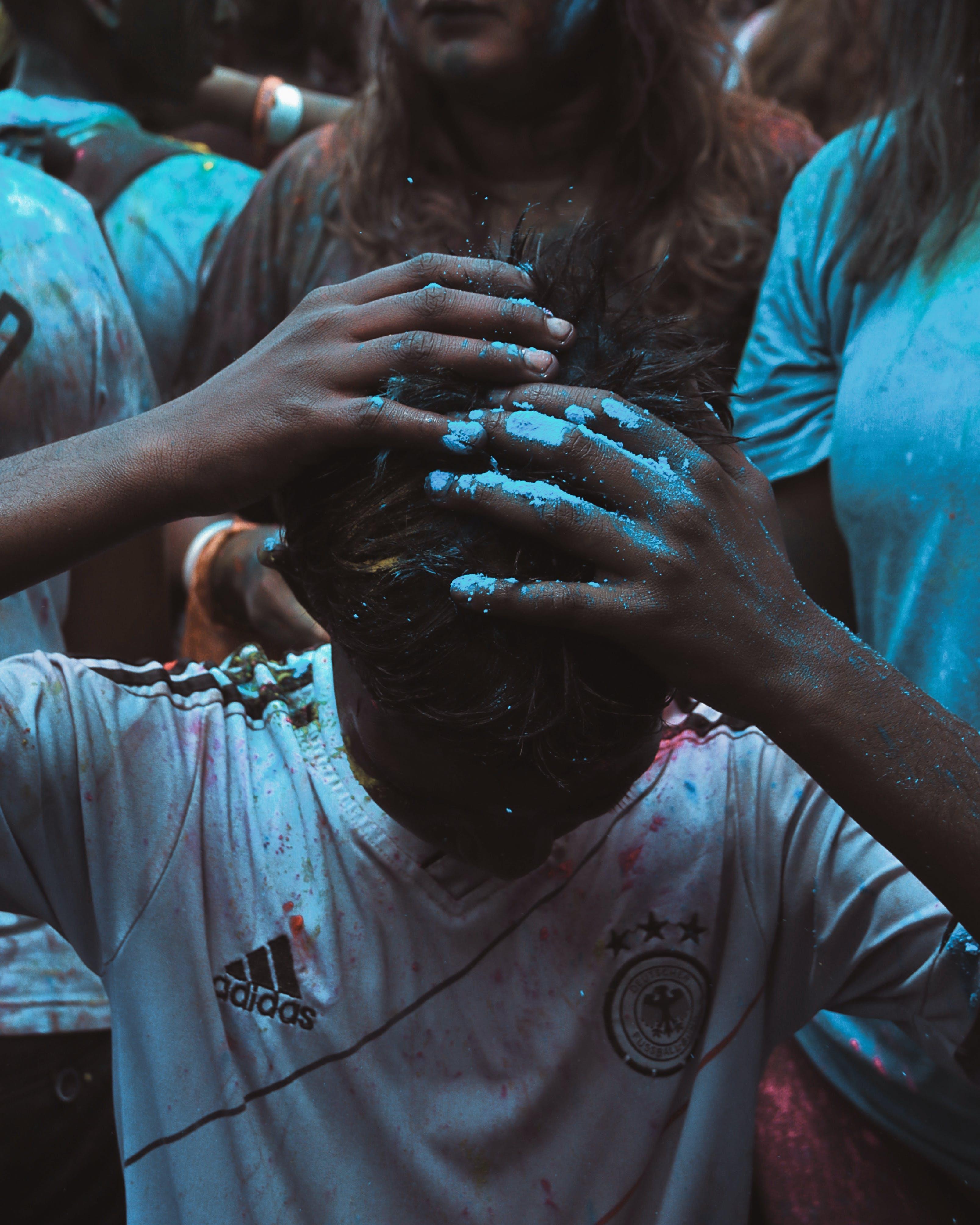 Free stock photo of blue, blue background, blues, celebrate