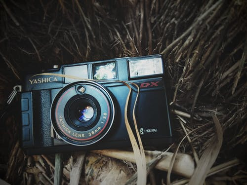 Free stock photo of vintage camera