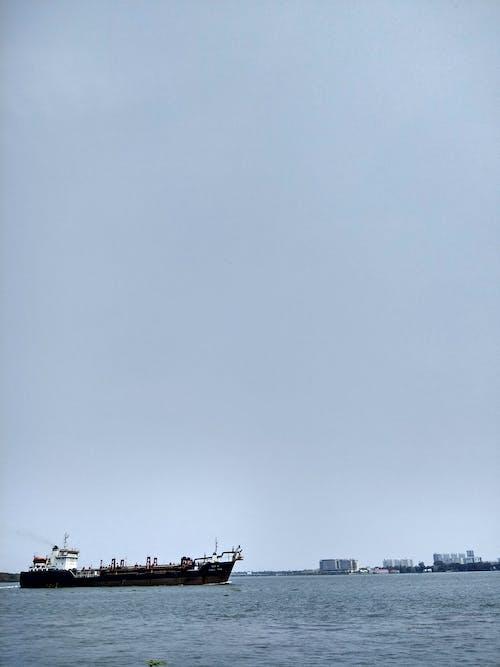 Free stock photo of kerala, sea, ship