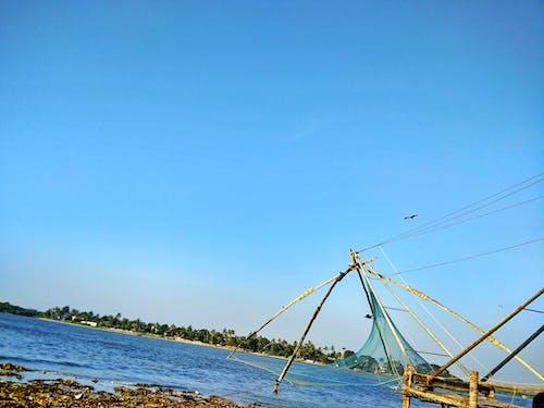 Free stock photo of fish net, sea
