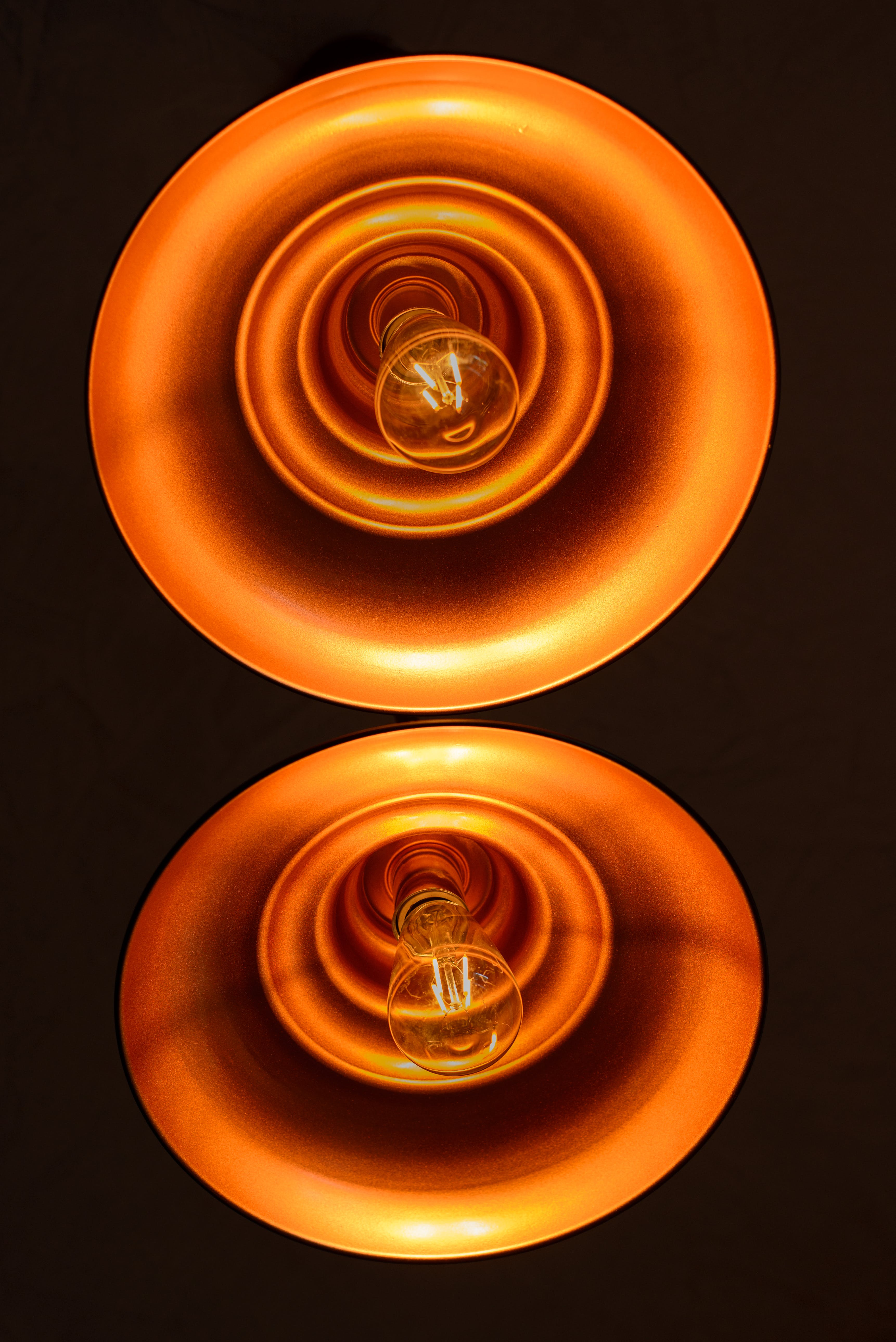 Photo of Two Clear Light Bulbs