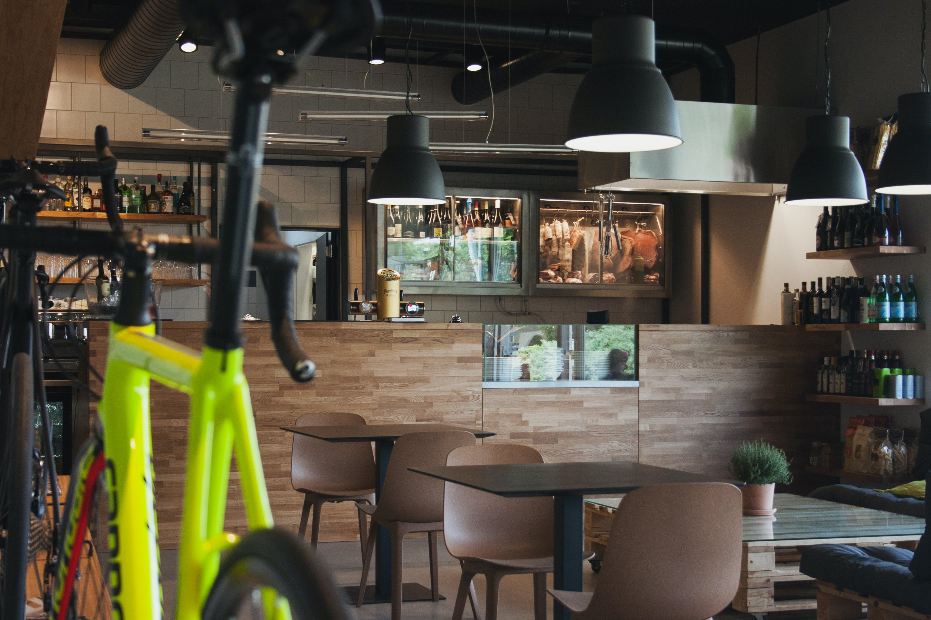 Free stock photo of alcohol, architecture, bar, bicycle