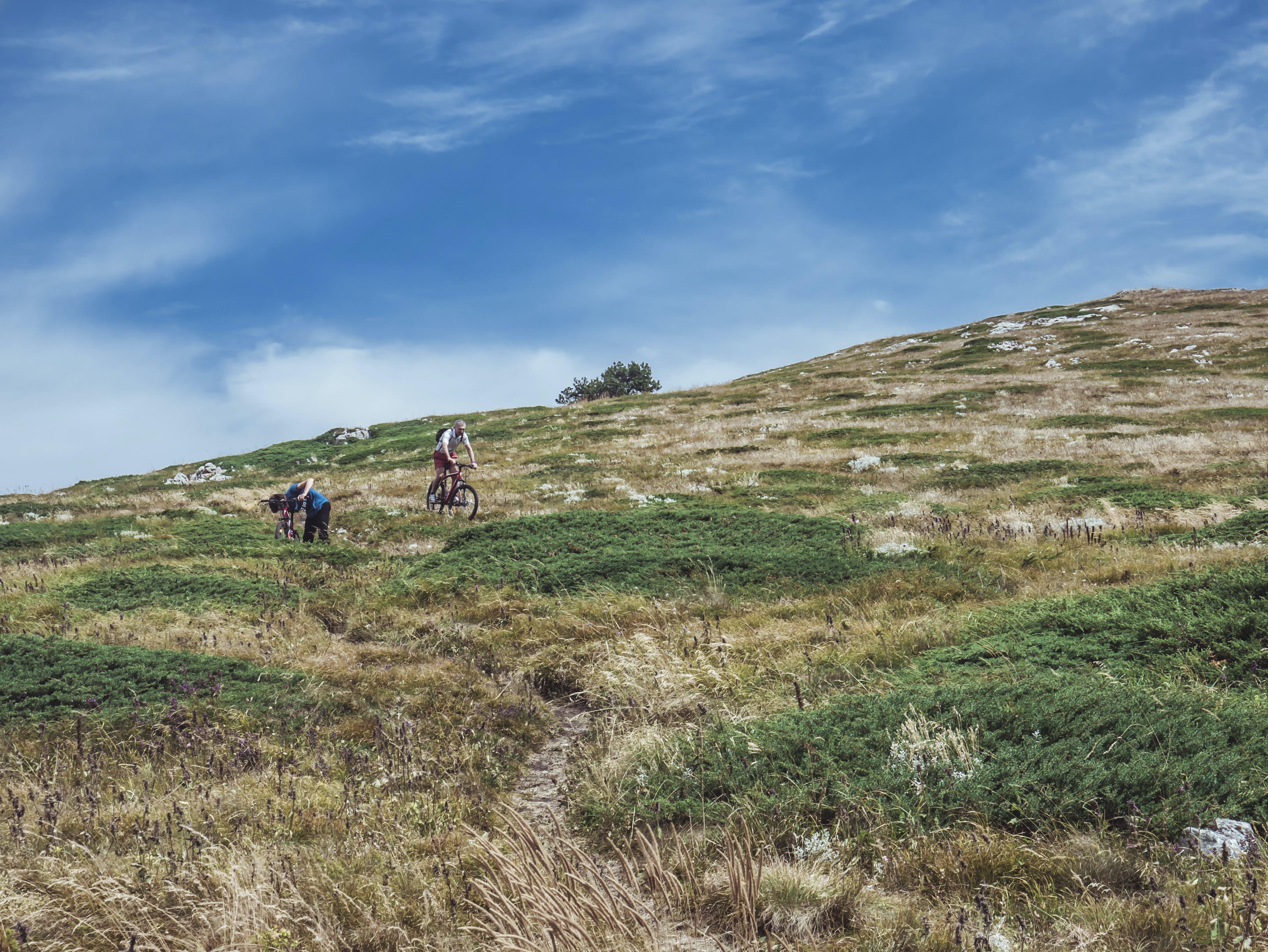 Gratis lagerfoto af bakke, bane, bjerg, blå