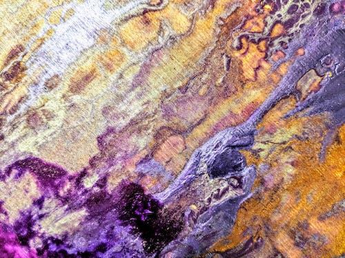 Kostnadsfri bild av lila, målning