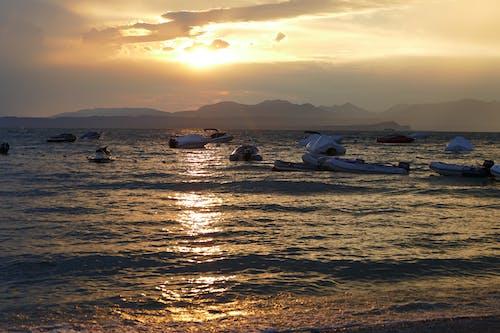Imagine de stoc gratuită din bărci, Italia, Lacul Garda, lazise