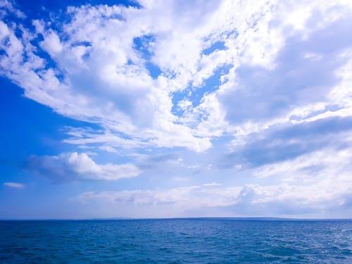 Kostenloses Stock Foto zu blau, blauem hintergrund, blauer himmel, coole hintergrundbilder