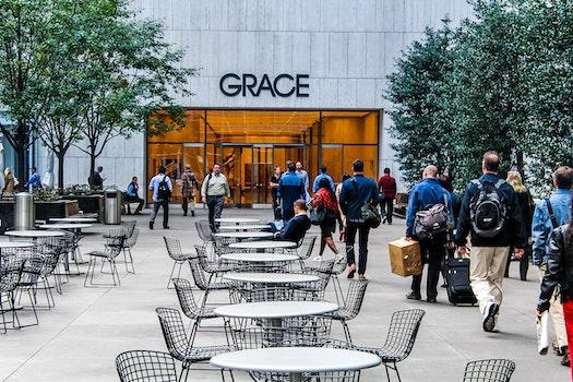Free stock photo of people, walking, shopping, shopping center