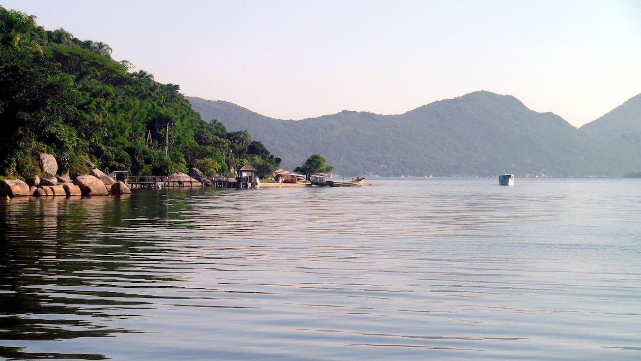água, paisagem, panorama