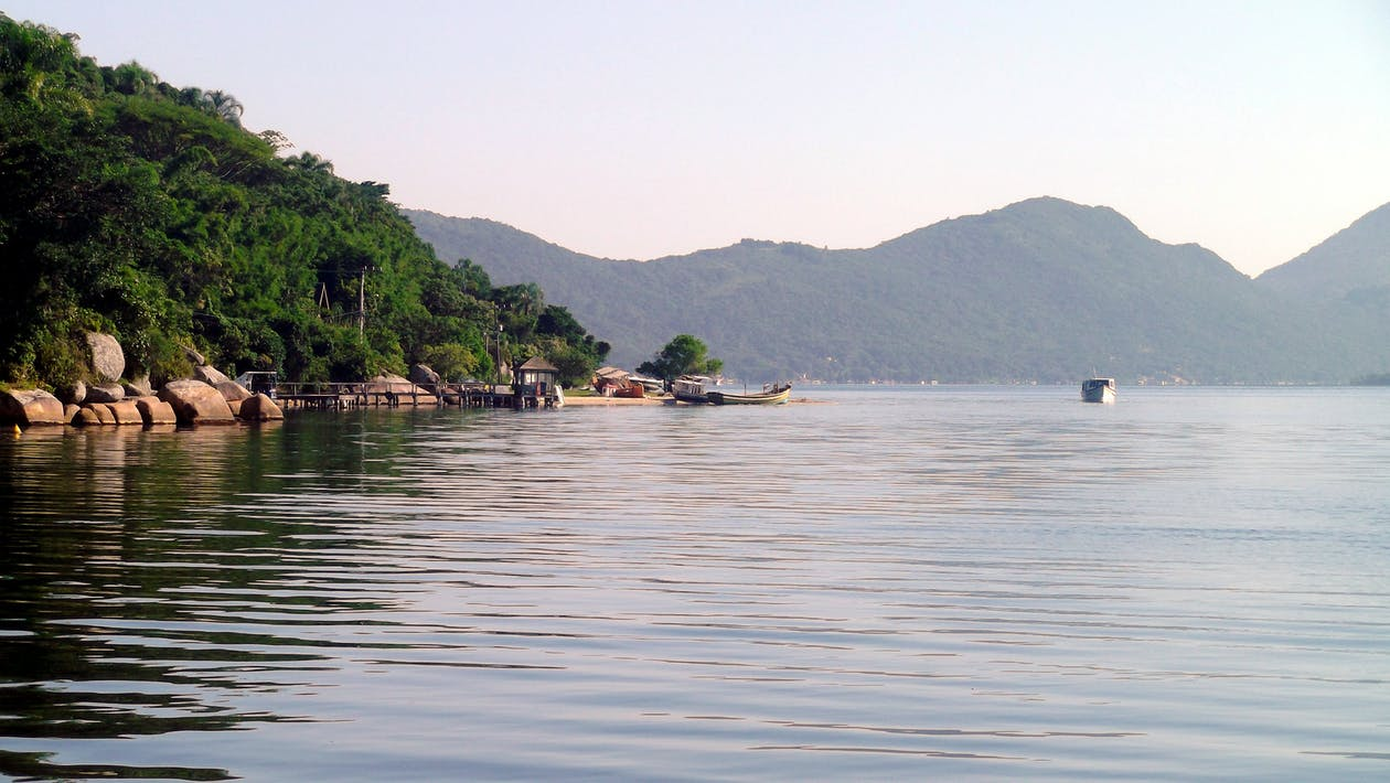 水, 自然の道, 風景