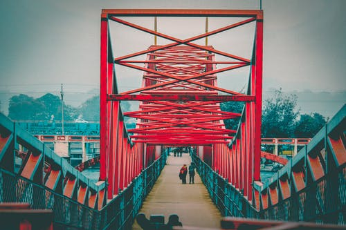 Free stock photo of bridge, bridge railing, Haridwar