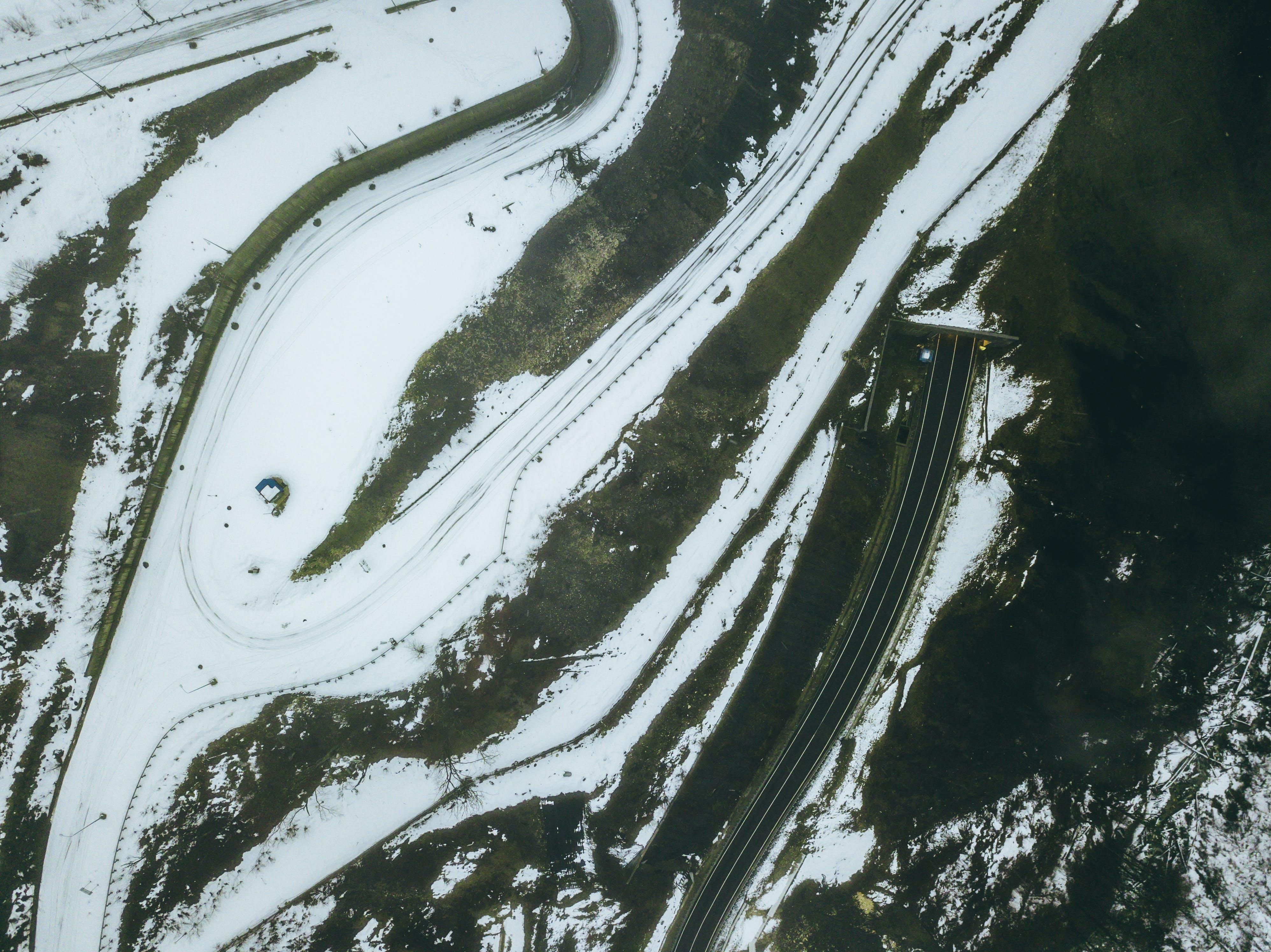 Free stock photo of cold, snow, wood, flight