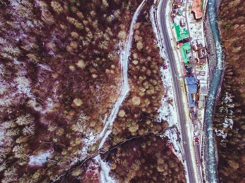 Ingyenes stockfotó alpesi, csúcs, december, drón témában