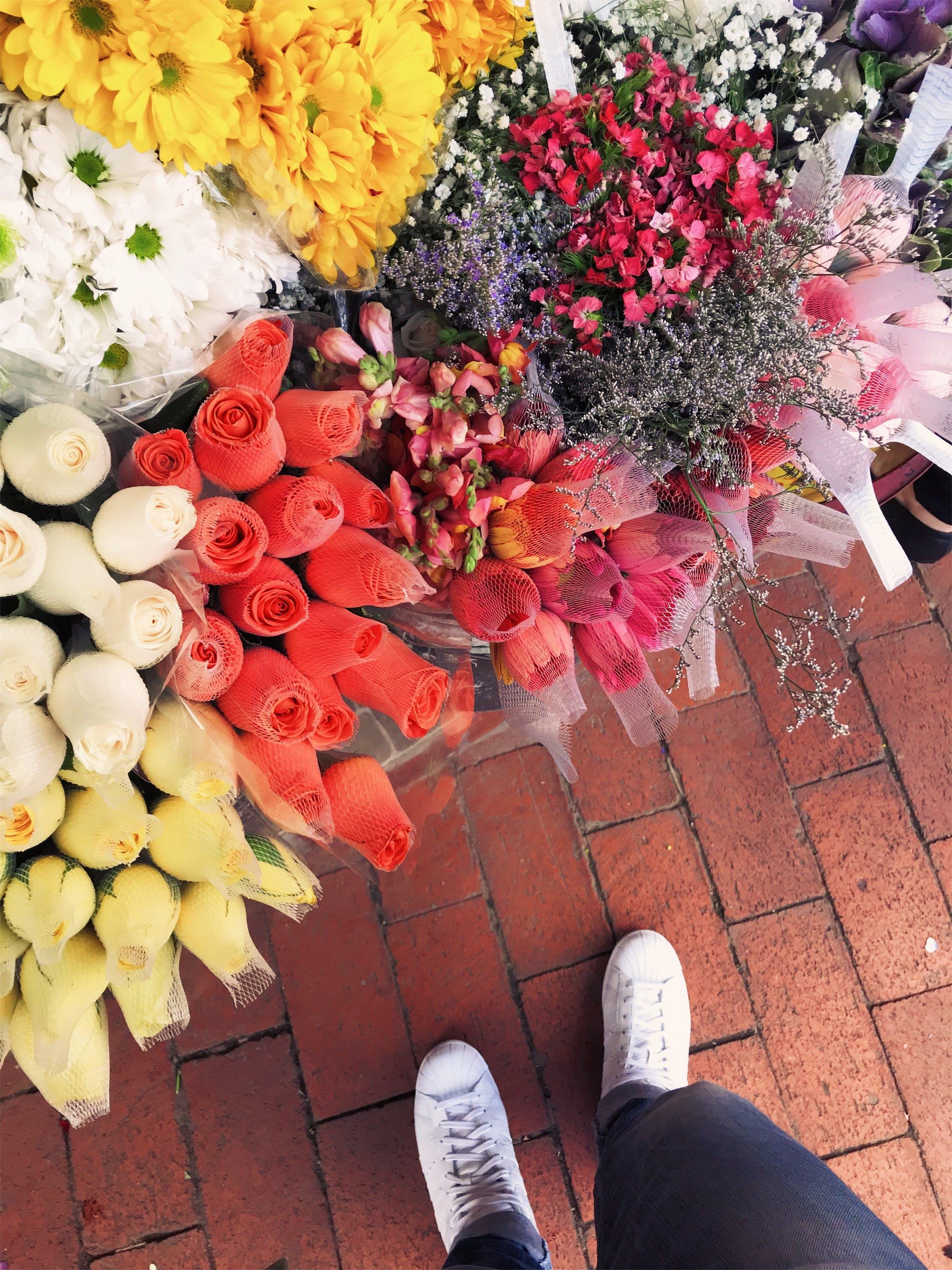 Assorted Flower Bouquet Lot