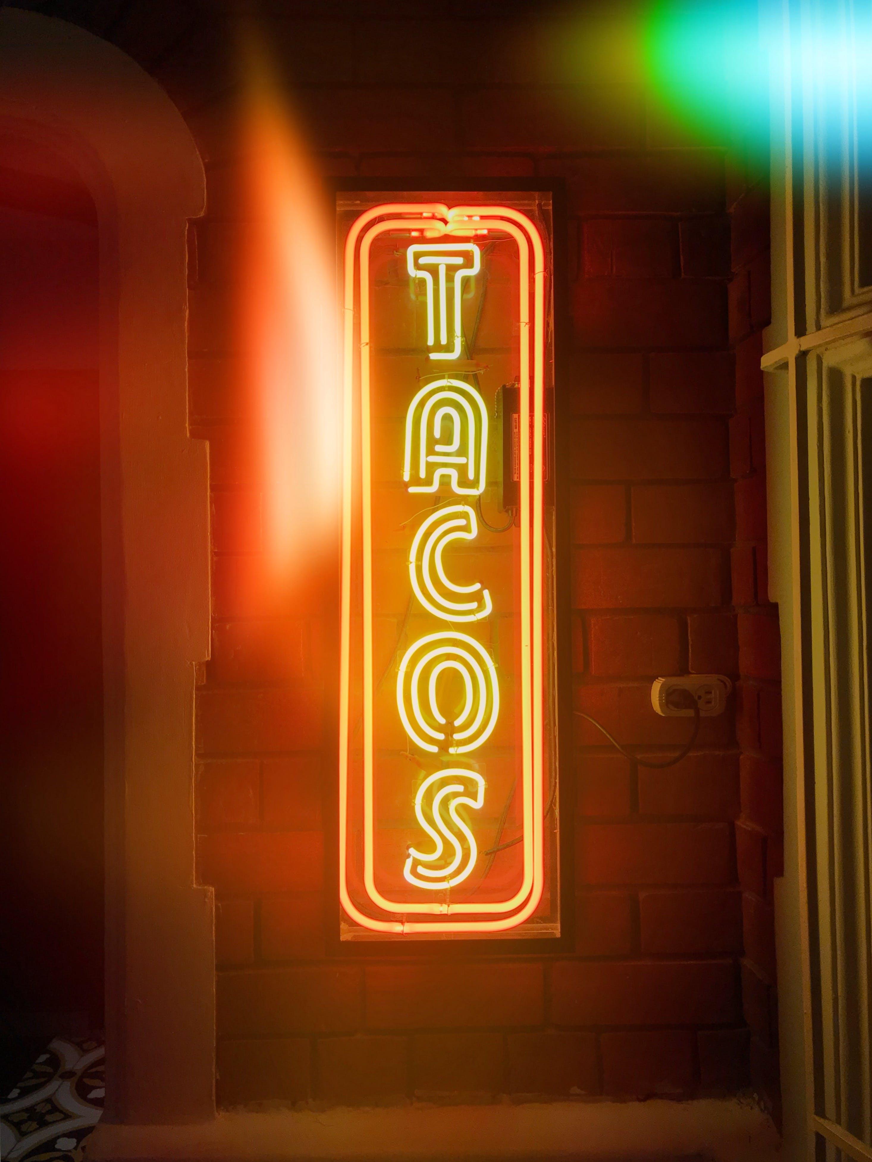Tacos Led Signage