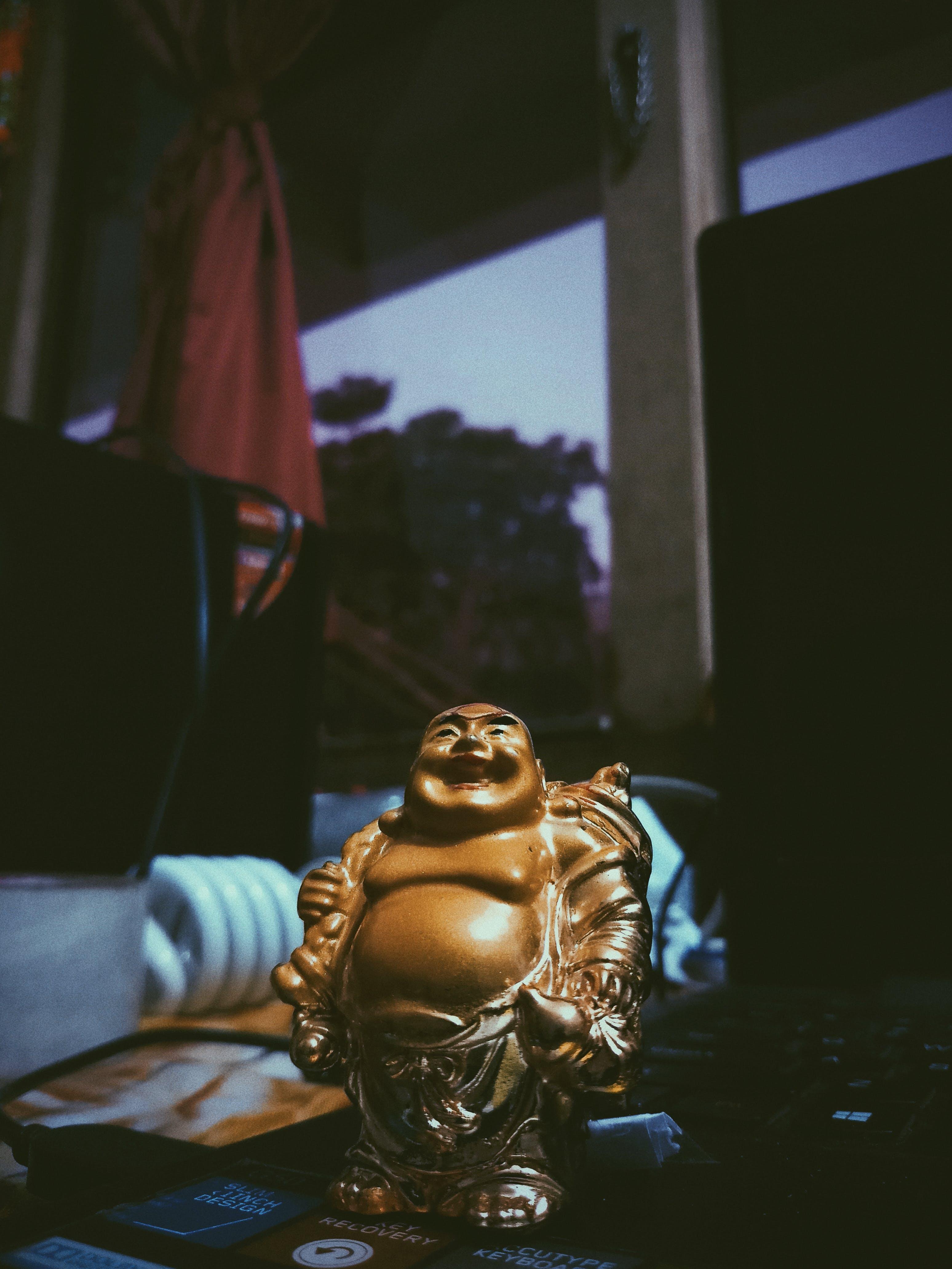 Free stock photo of android, buddha, dark, darkness