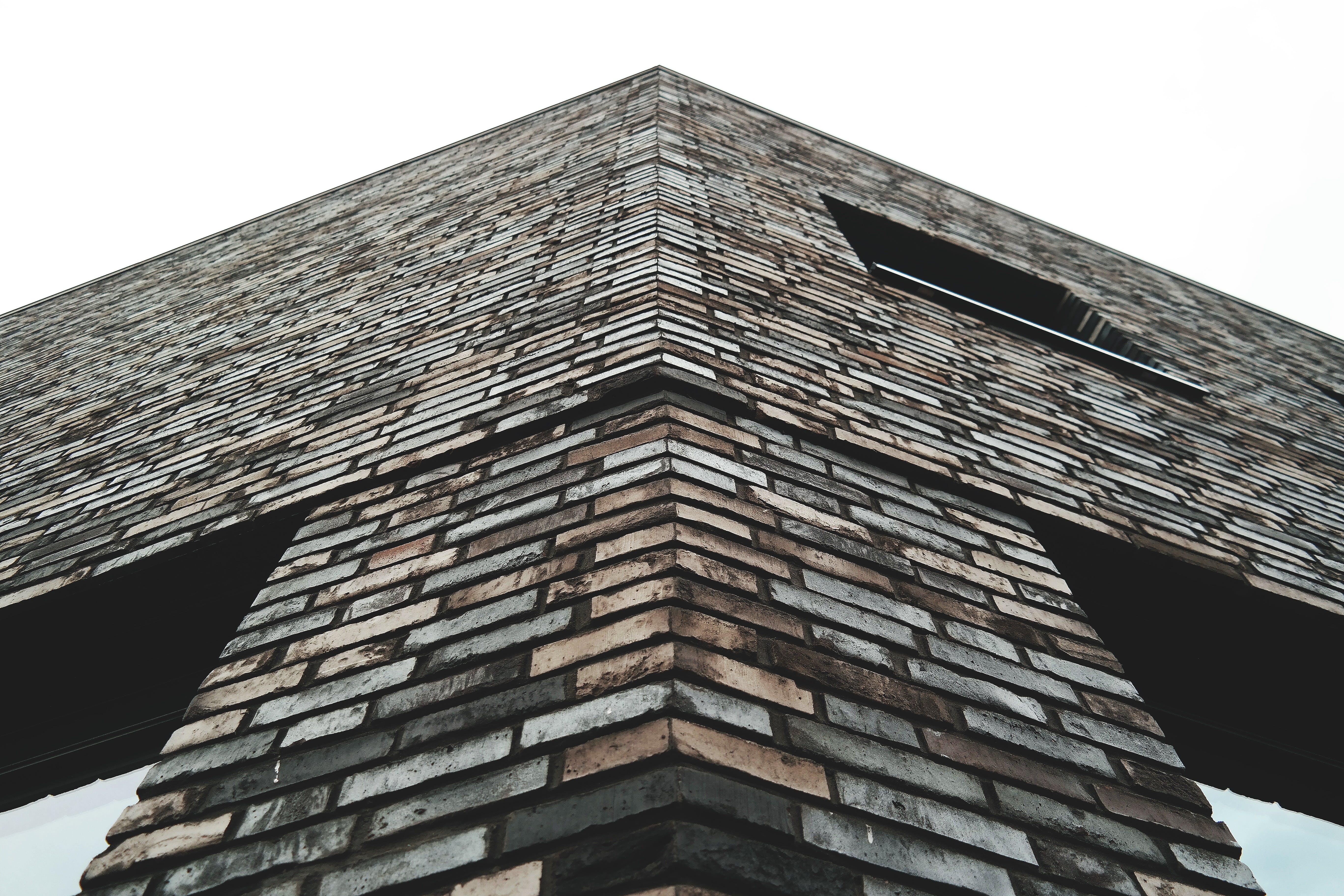 Základová fotografie zdarma na téma architektonický návrh, architektura, budova, cihly