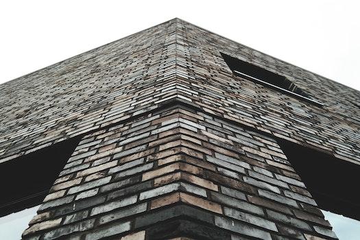 Free stock photo of building, bricks, wall, glass