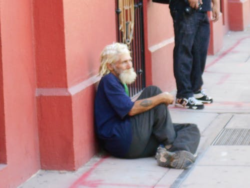 Free stock photo of homeless, man