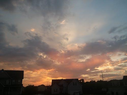 Free stock photo of #sunset #sun #sky #nature