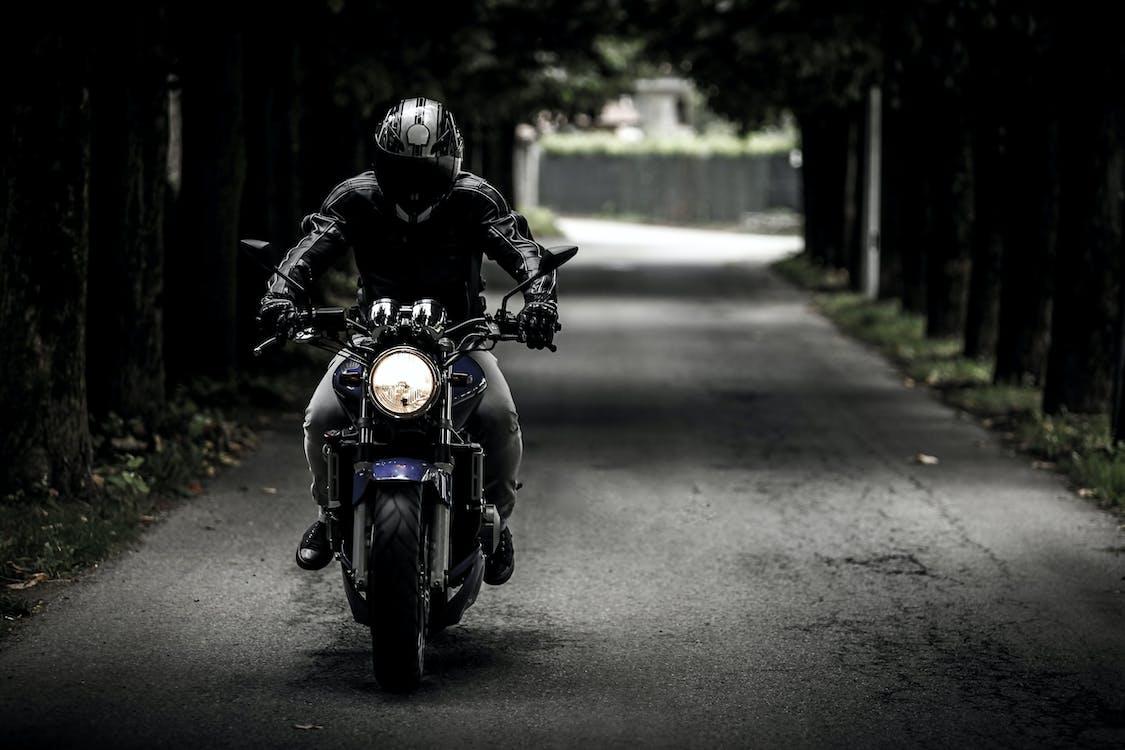 Free stock photo of bike rider, dark, driver