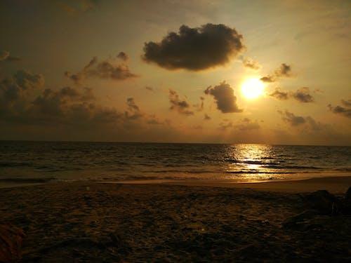 Free stock photo of beach, evening sun, golden hour, sunset