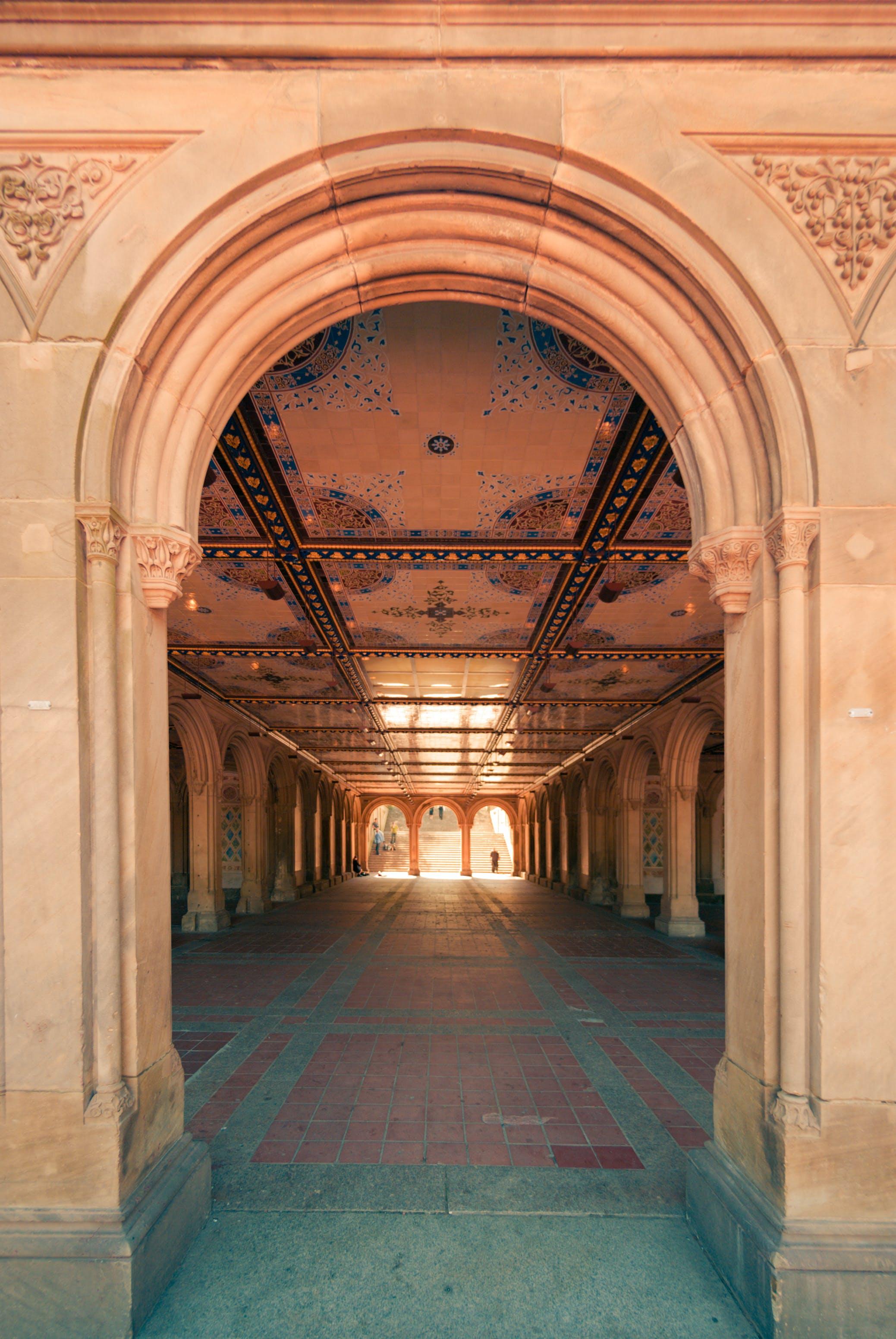 Free stock photo of angel, apple, arcade, architecture