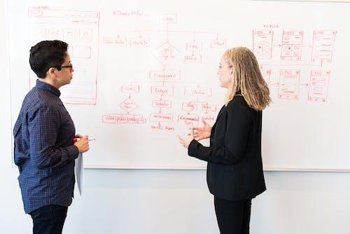 Gratis lagerfoto af arbejde, arbejder, brugerflow, diagram