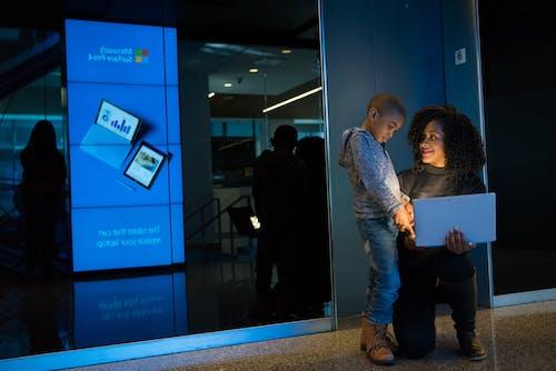 기술, 노트북, 블루, 사람의 무료 스톡 사진