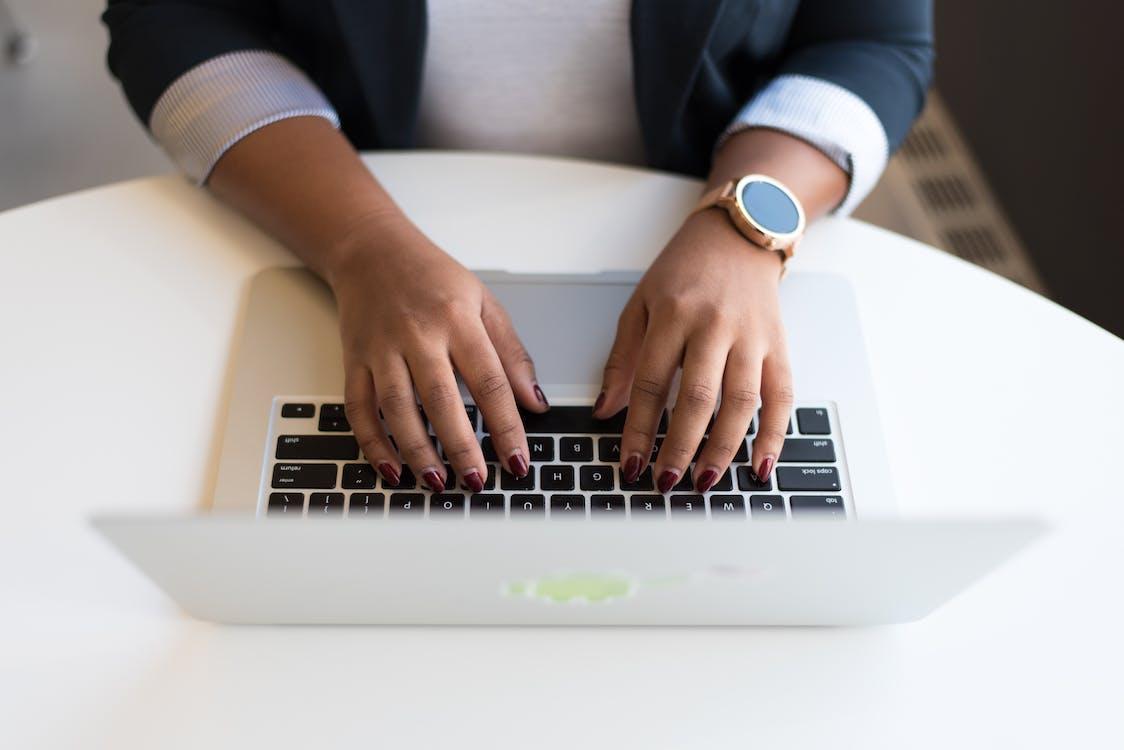 arbete, arbetssätt, bärbar dator