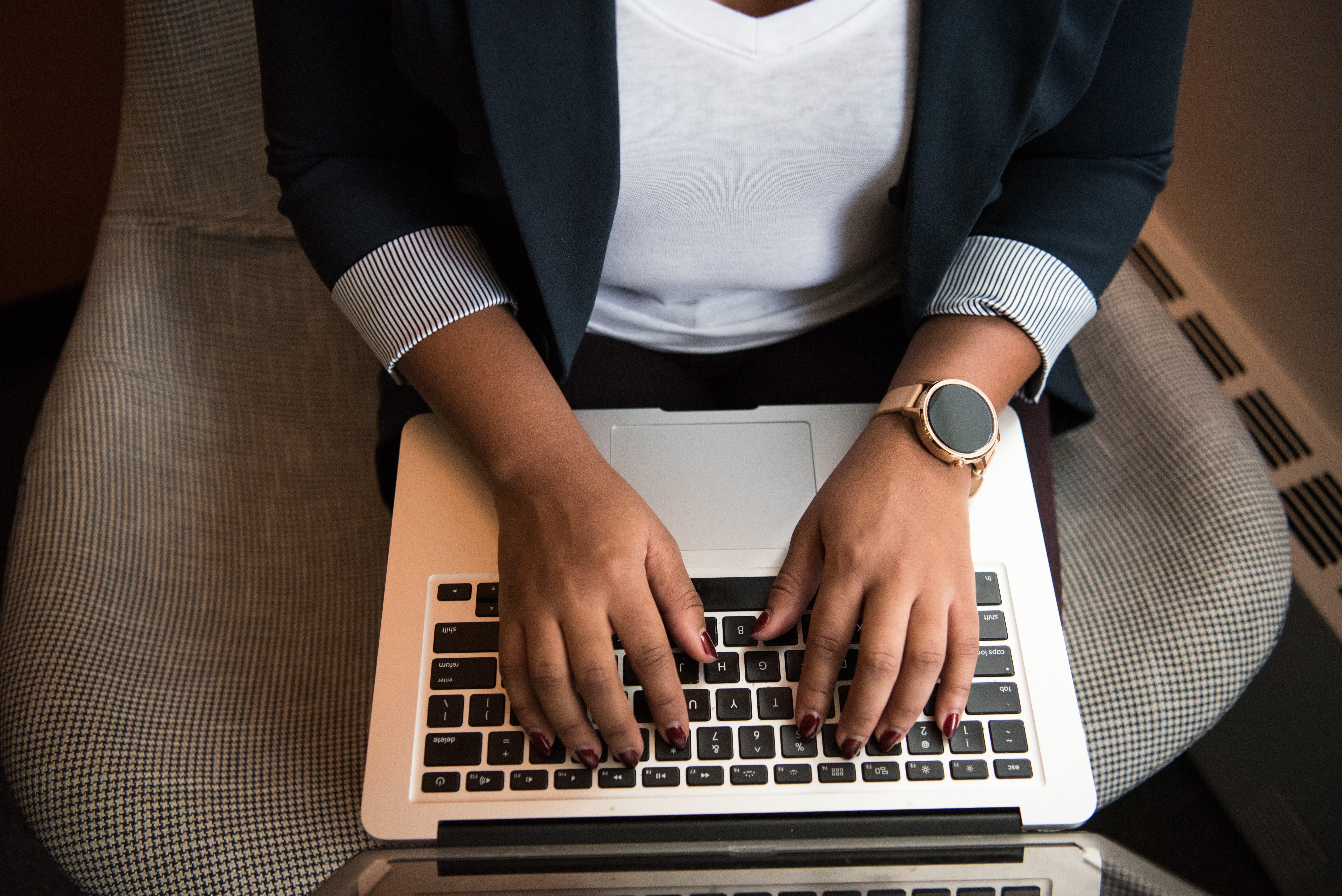 Person Using Macbook