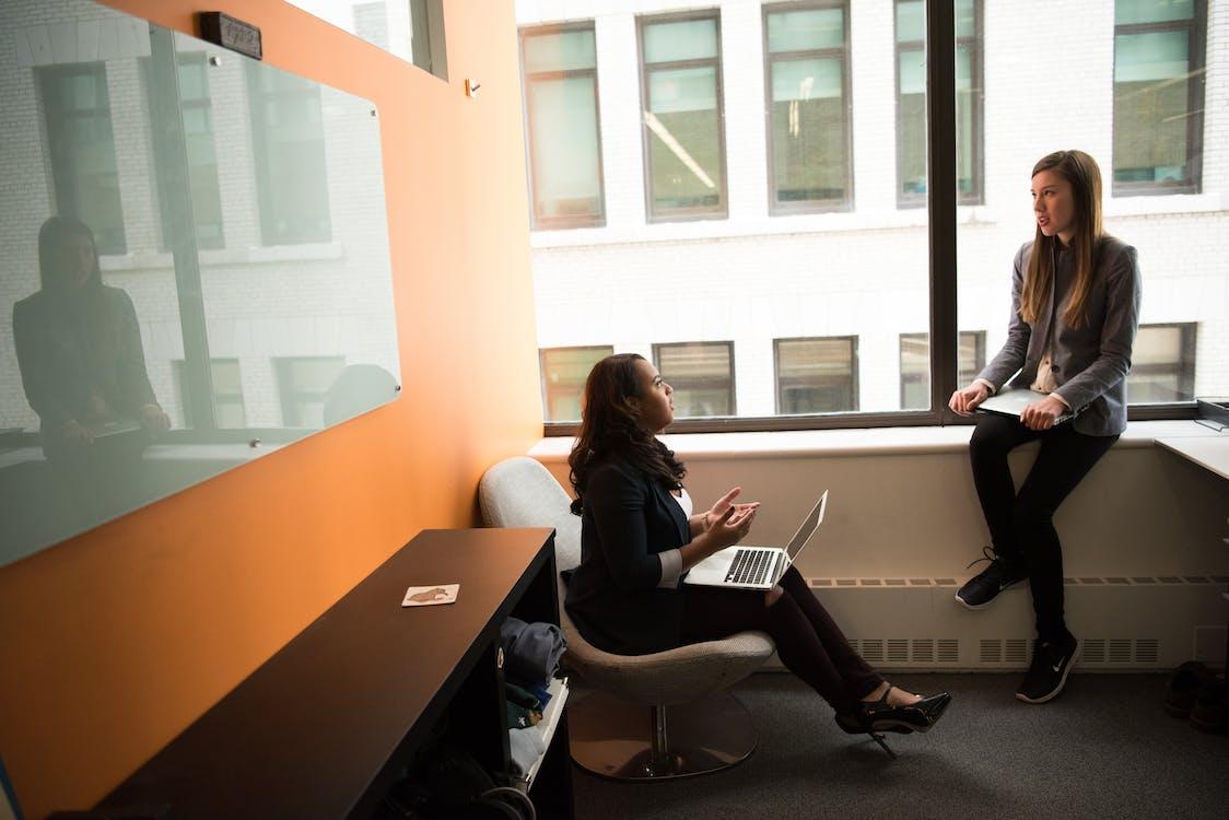ambiente de trabalho, argumentando, cadeira