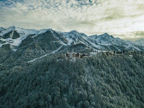 Ingyenes stockfotó Alpok, autó, autók, befagyott témában