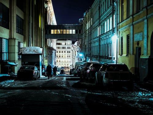 Ingyenes stockfotó belváros, borongós, cél, ég témában