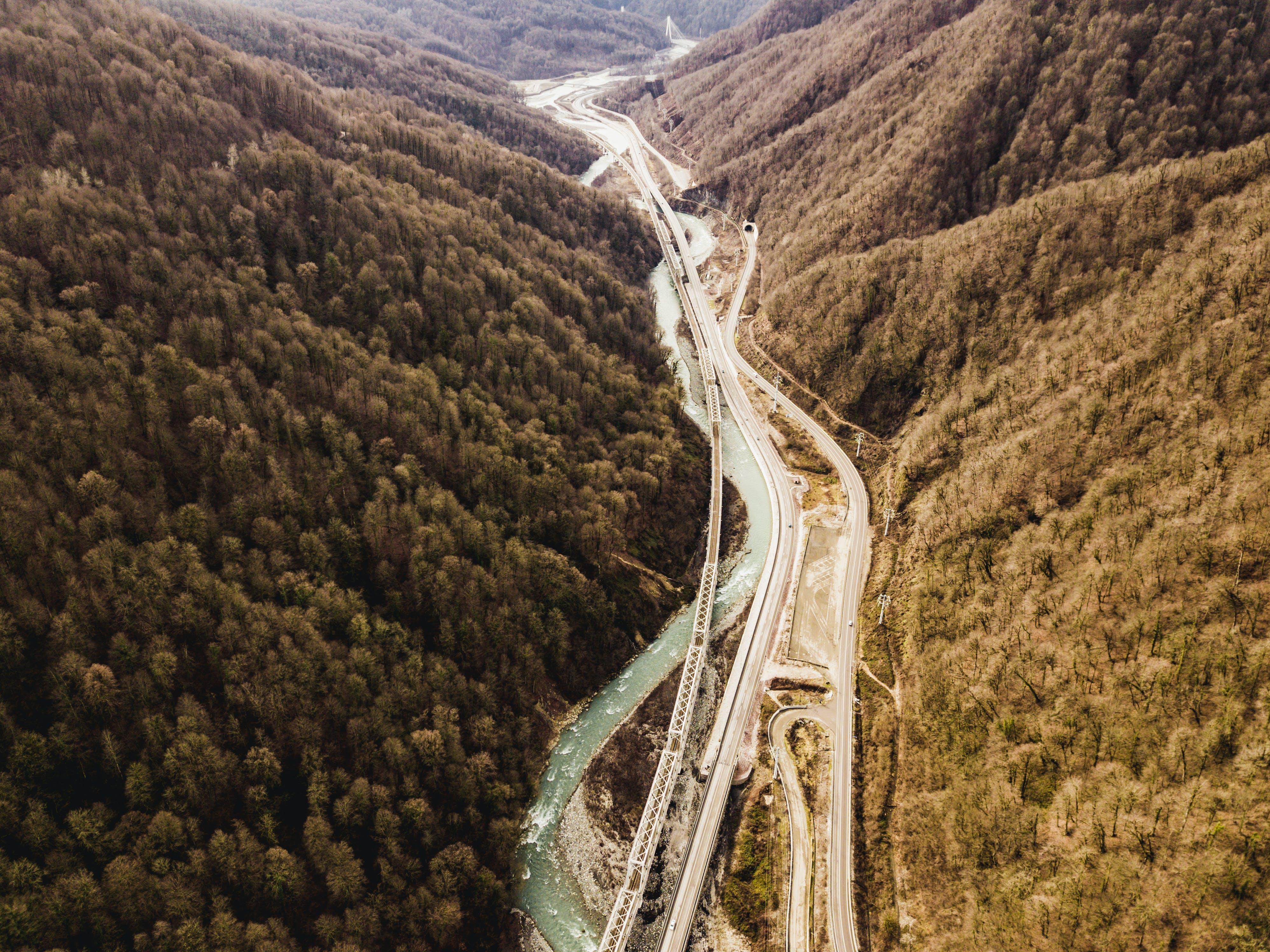 Aerial Photo of Freeway