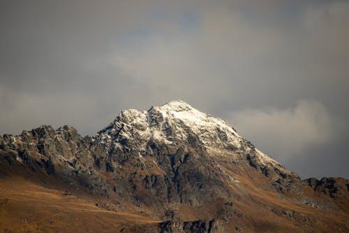 경치, 눈, 눈 덮인 산, 산의 무료 스톡 사진