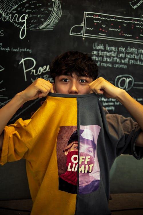Бесплатное стоковое фото с азиат, в помещении, выражение лица, вьетнамский