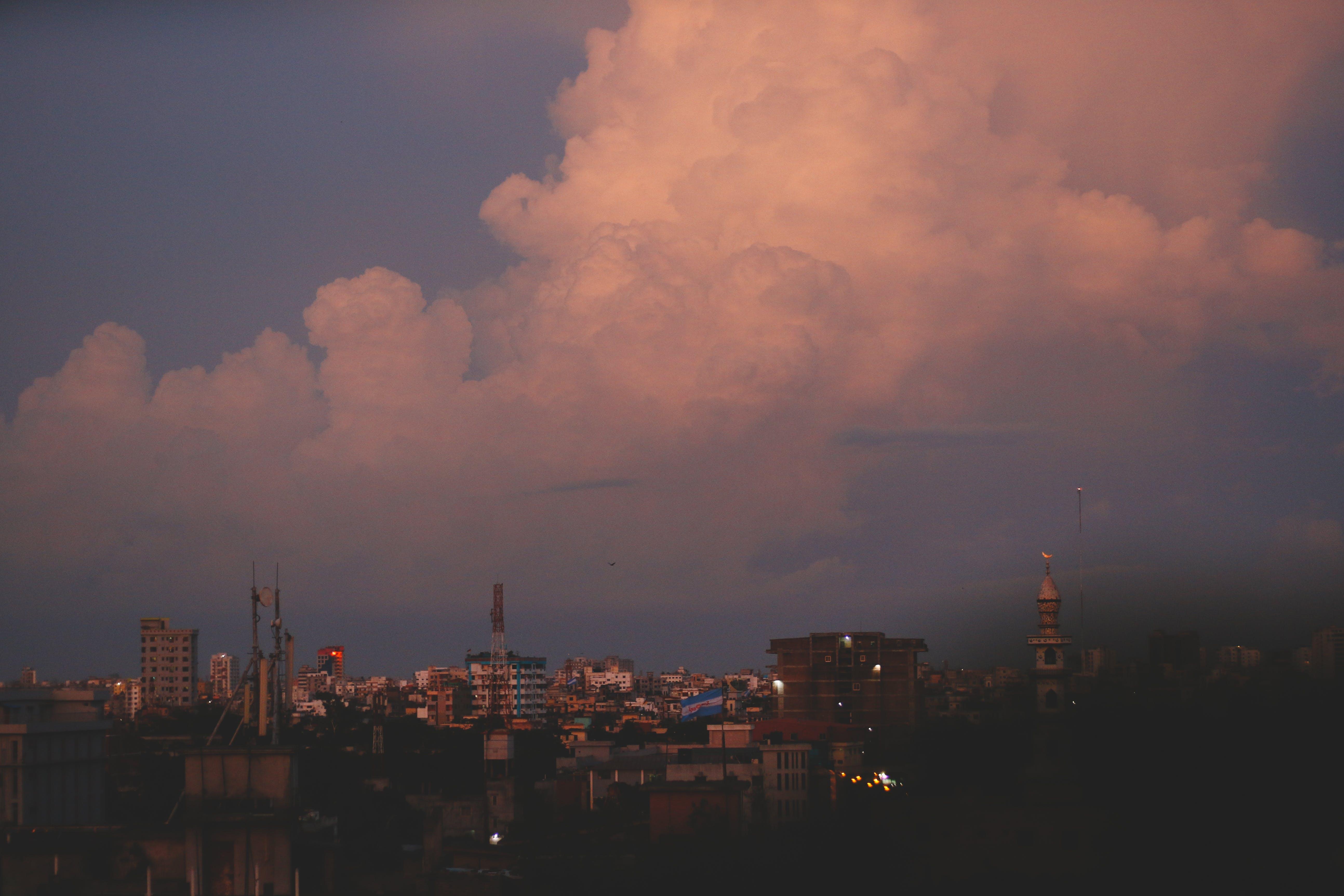 City Photography during Nightfall