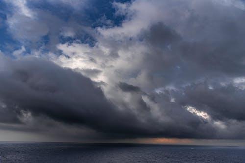 Δωρεάν στοκ φωτογραφιών με καταιγίδα, συννεφιασμένο τοπίο